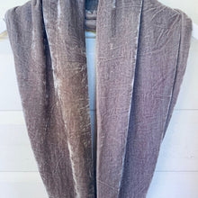 Silk Velvet Snood Infinity Scarves
