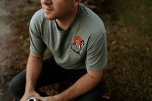 Snake Charmer Embroidered Pocket Tee