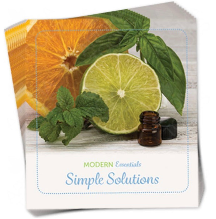 Simple Solutions Mini Essential Oil Book