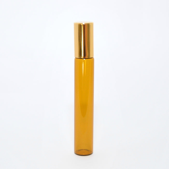 Amber Glass Rollerball Bottle