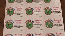 Peaceful Child Label Set 12x