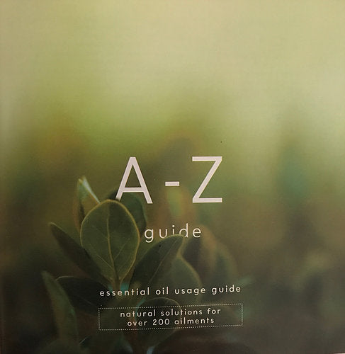 The A-Z Essential Oil Book