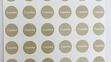 Copaiba Bottle Top Labels