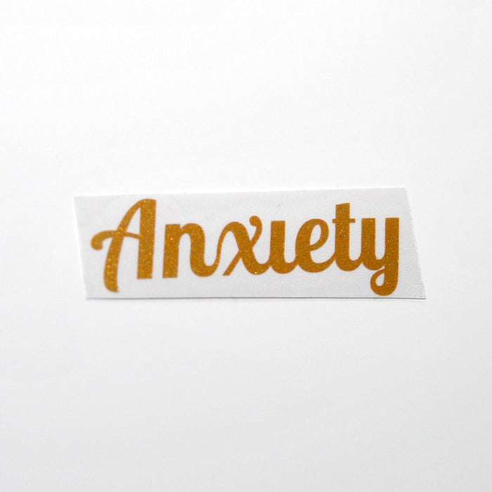 Anxiety 'Luxe' Vinyl Label Single