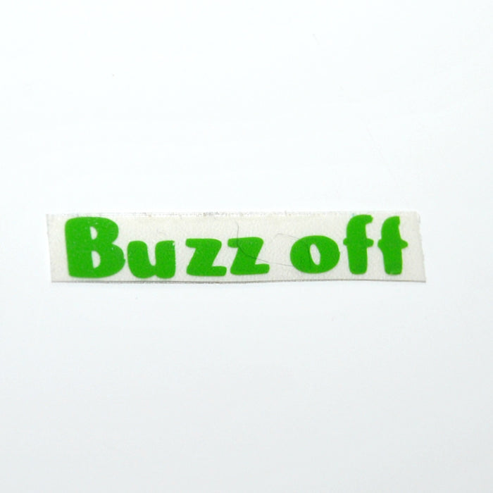 Buzz Off Vinyl Label Single