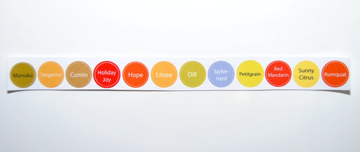 Bottle Top Label Set (12)