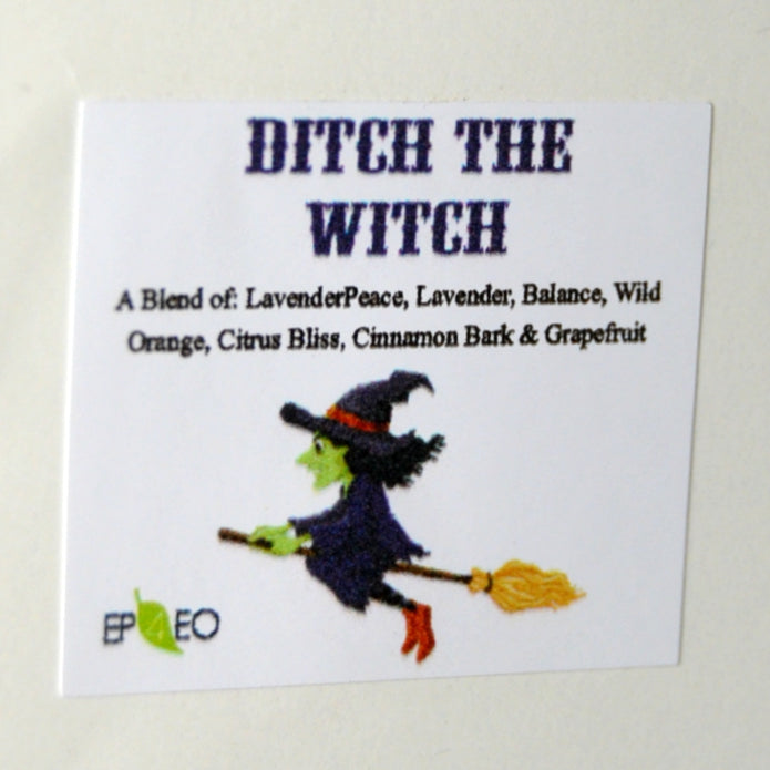 Ditch the Witch Vinyl Label