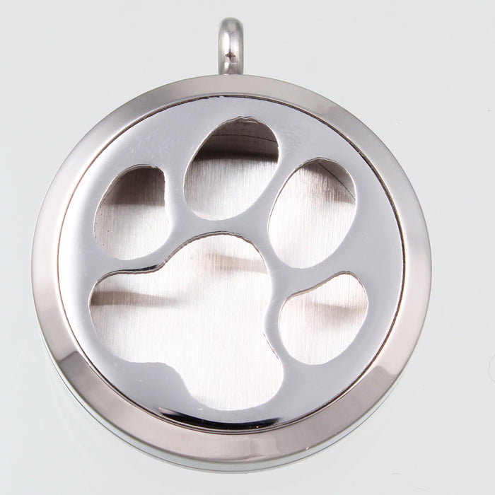 Stainless Steel Diffusing Dog Locket