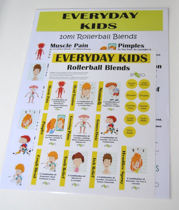 Everyday Kids Label Sheet