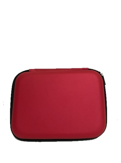 Red Hard Shell First Aid Case (Empty)