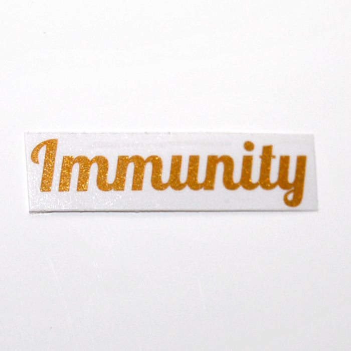 Immunity 'Luxe' Label Single