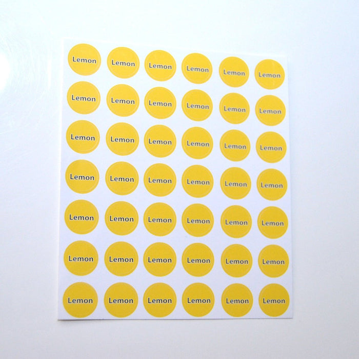 Lemon Bottle Top Sheet