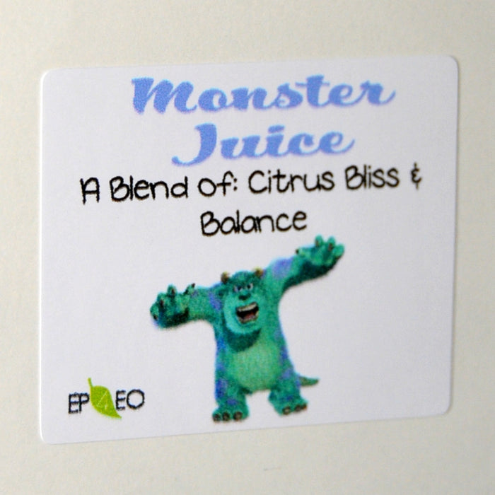 Monster Juice Vinyl Label Single