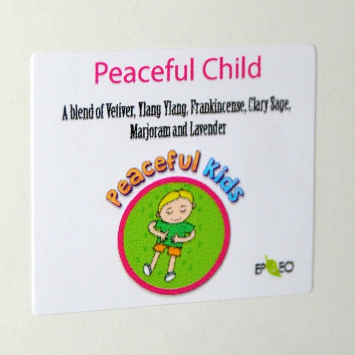 Peaceful Child Vinyl Label