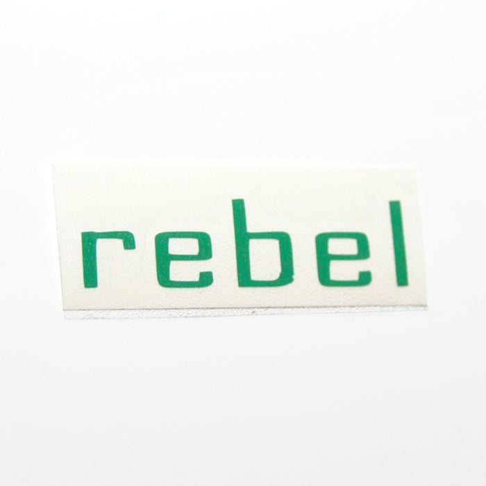 Rebel Perfume Vinyl Label Single