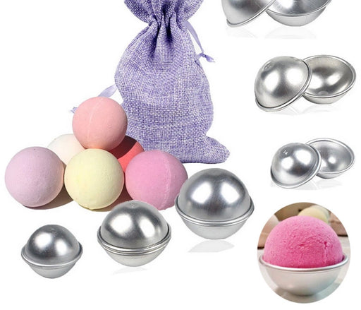 Stainless Steel Bath Bomb Molds