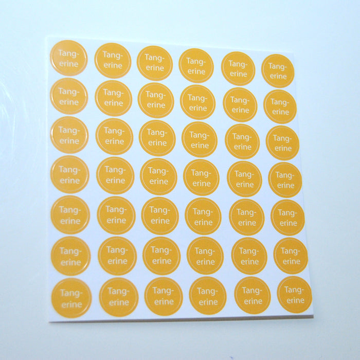 Tangerine Bottle Top Sheet