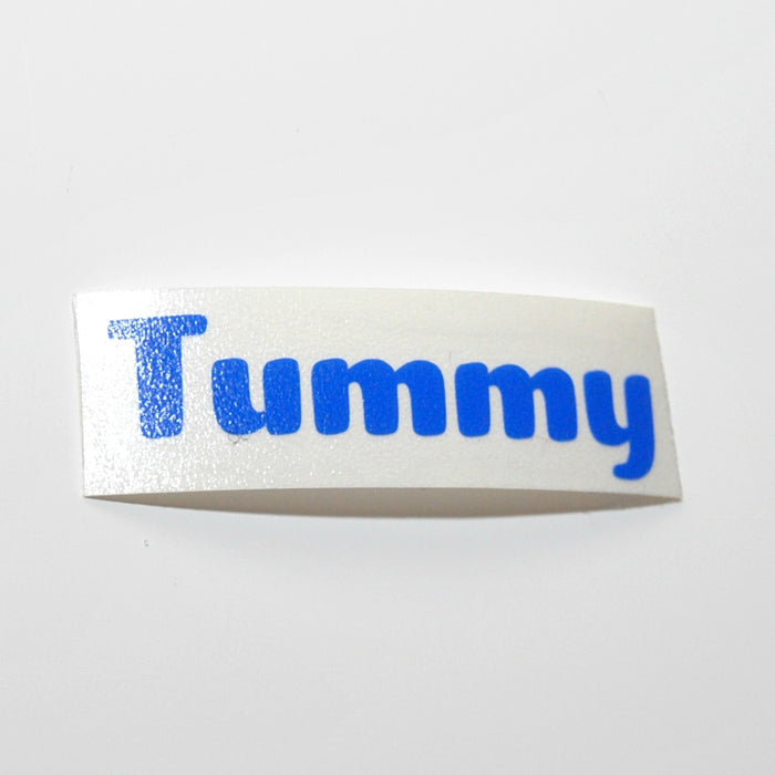 Tummy Vinyl Label Single
