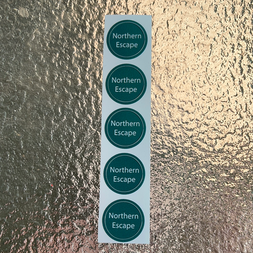 Northern Escape Bottle Cap Labels