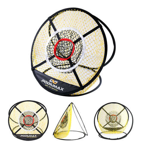 24 Inches Pop Up Golf Chipping Net, Indoor/Outdoor Golf Net for Accuracy and Swing Practice