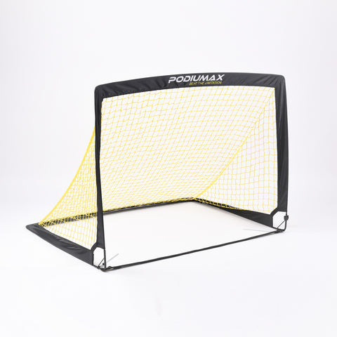 PodiuMax Square Kids Pop Up Football Goal (Set of 2)