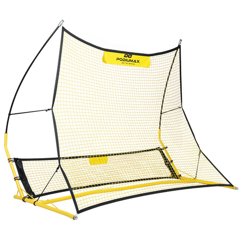 PodiuMax Upgraded Soccer Rebounder Replacement--Large Net