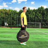 6ft Pop Up Soccer Goal Sets with Carrying Bag and 10 Agility Training Cones