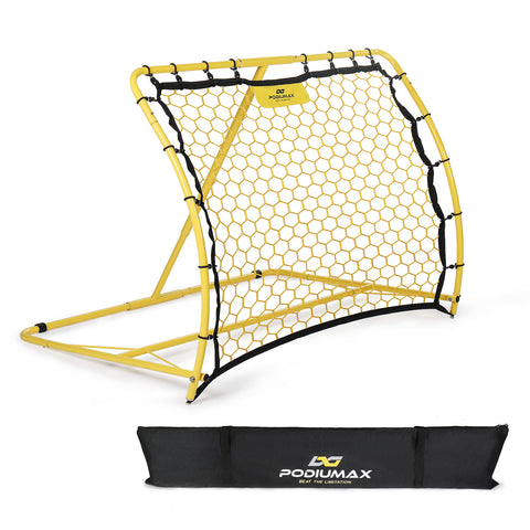 Portable Soccer Trainer, Rebounder Net with Adjustable Angle