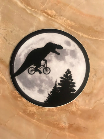 ET Rex Decal Sticker