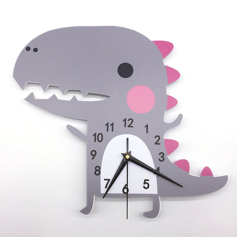 3D Dinosaur Wall Clock