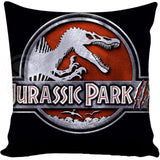 Jurassic Park Throw Pillow Case
