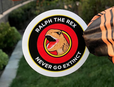 Never Go Extinct Decal Sticker