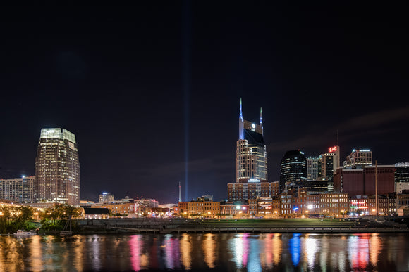 Nashville Skyline from November 2016 - 16 x 24 Print