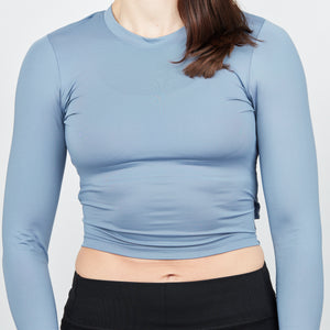 Chloe Crop - Steel