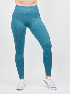 Chrystine Seamless Legging - Mermaid Blue