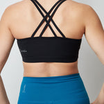 Chrystine Sports Bra - Onyx