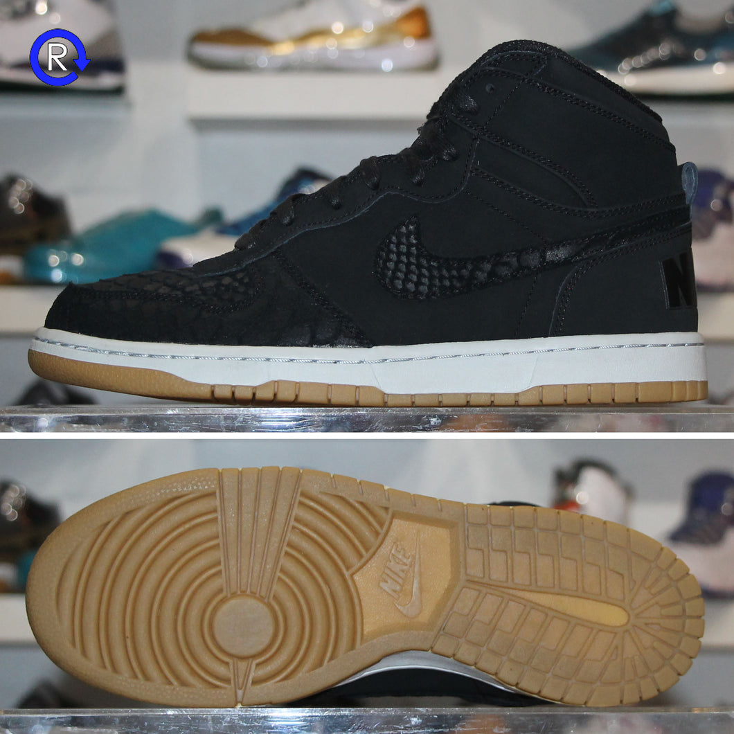 'Black/Gum' Nike Big High Lux | Size 10 Condition: 9.5/10.