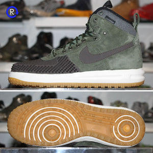 'Baroque Brown/Army Olive/Gum' Nike Lunar Force 1 Duckboot (2017) | Size 11.5 Condition: 9.5/10.