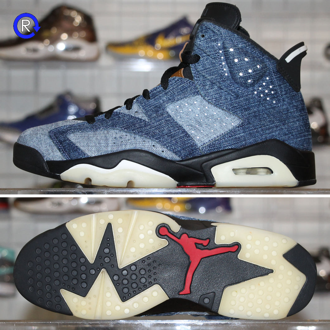 'Washed Denim' Air Jordan 6 (2019) | Size 10 Condition: 9.5/10.