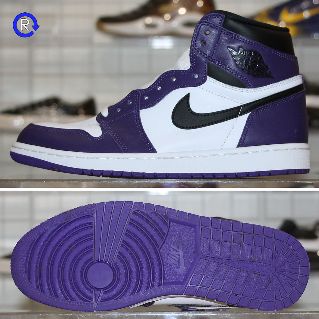 'White/Court Purple' Air Jordan 1 High OG (2020) | Size 10 Condition: 9.5/10.