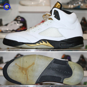 'Olympic Gold' Air Jordan 5 (2016) | Size 11 Condition: 8.5/10.