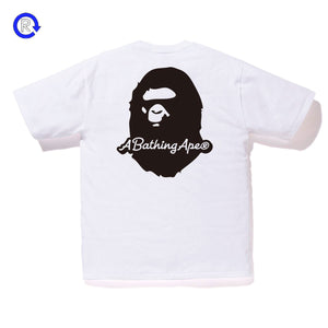 A Bathing Ape Bape White 'Patch' Tee