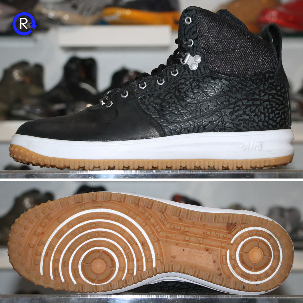'Black/Gum' Nike Lunar Force 1 High Sneakerboot (2014) | Size 11 Condition: 9/10.