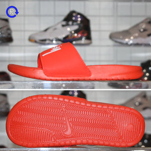 'Habanero Red' Stussy x Nike Slide (2020) | Size 12 Brand new, deadstock.