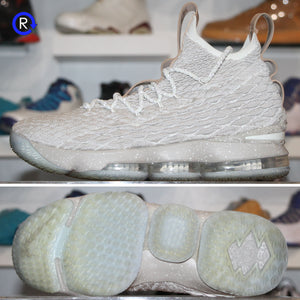 'Ghost' Nike LeBron 15 (2017) | Size 9.5 Condition: 9/10.
