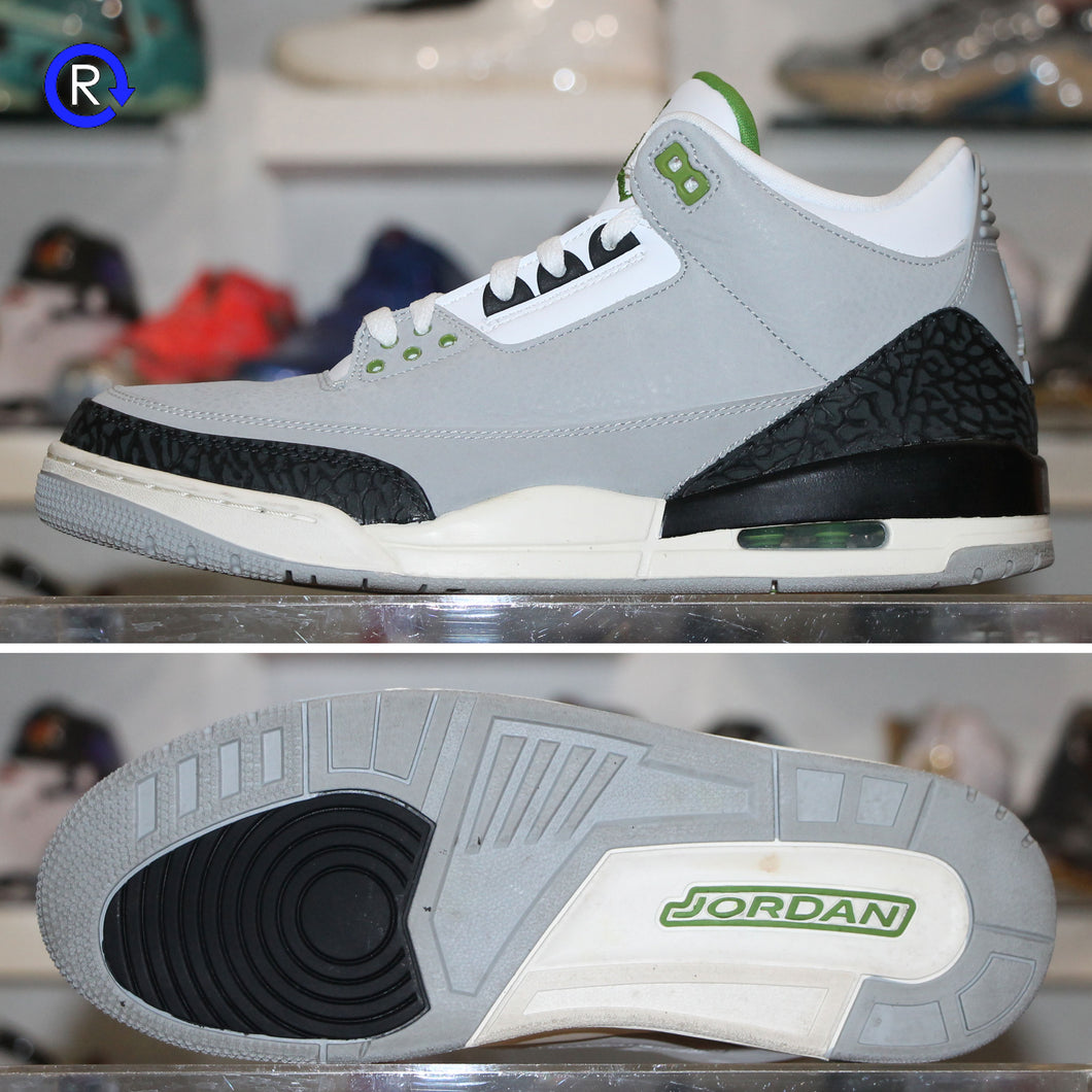 'Chlorophyll' Air Jordan 3 (2018) | Size 11.5 Condition: 9.5/10.