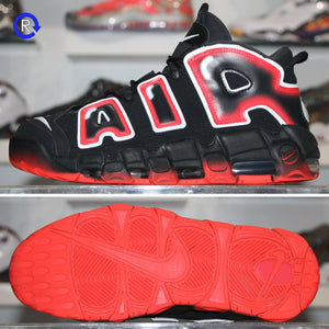 'Black/Laser Crimson' Nike Air More Uptempo (2019) | Size 9.5 Condition: 9.5/10.