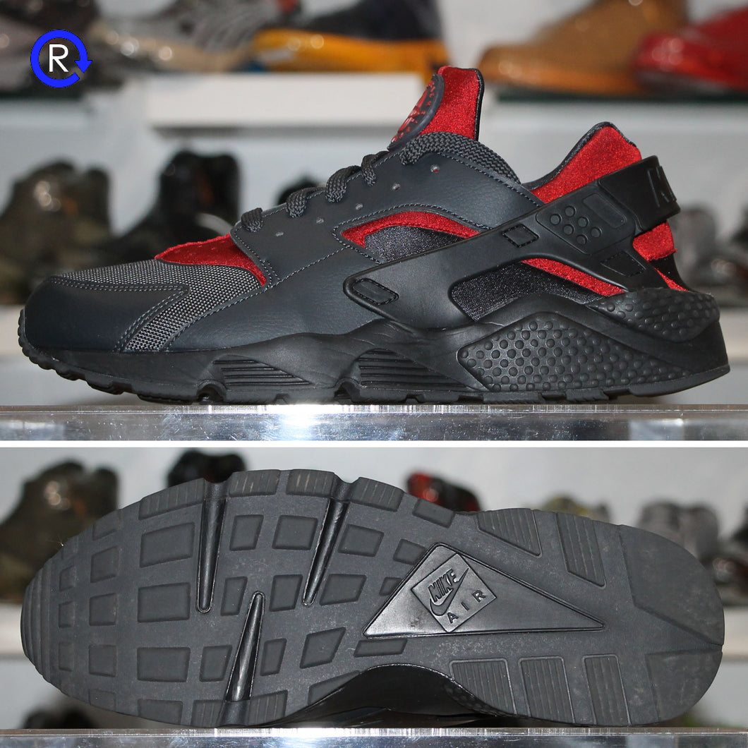 'Gym Red/Black/Anthracite' Nike Air Huarache Run | Size 12 Condition: 9.5/10.