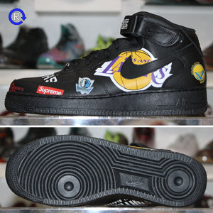 Supreme x NBA 'Black' Nike Air Force 1 Mid '07 (2018) | Size 9.5 Brand new, deadstock.