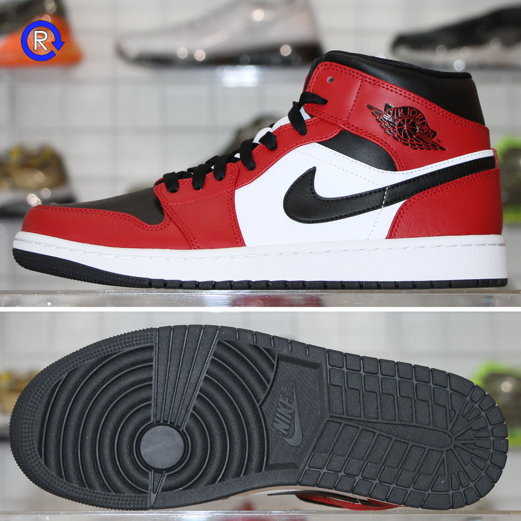 'Chicago Toe' Air Jordan 1 Mid (2020) | Size 9.5 Brand new, deadstock.